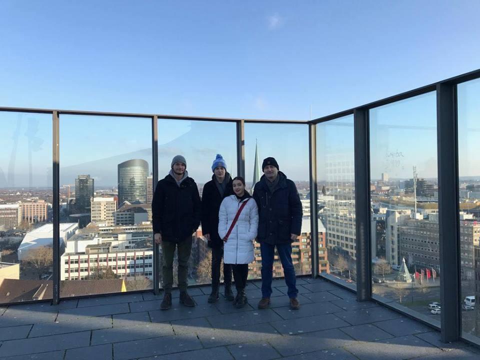 ჩვენი მოსწავლეები გერმანიაში ქ. ვუპერტალში გაცვლითი პროგრამით